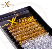 Glitter Wimperextensions Lash Extend