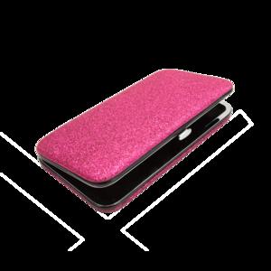 Glitter Tweezer Case (Donker Roze)